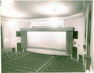 Movie Screen, Curtain Open (2)
