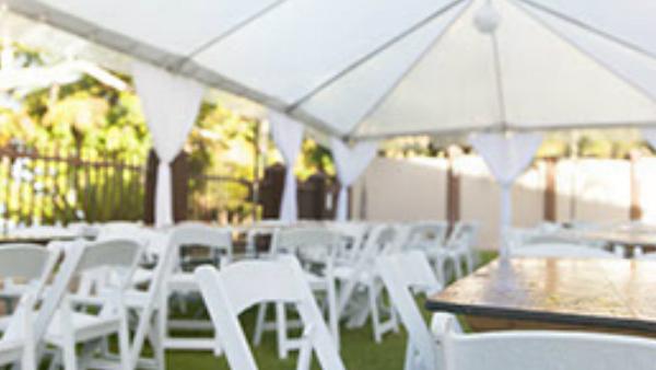 Opening Night Tent