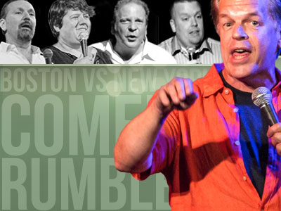 Mike McDonald's Boston vs New York Comedypalooza