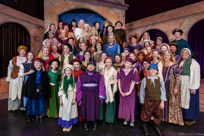 Revels Cast photo