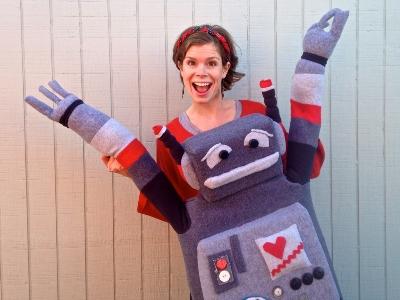 Lindsay and Robot