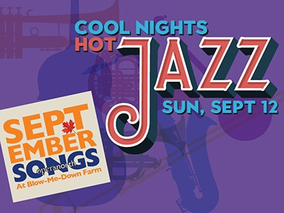 September Songs: Jazz on a Sunday Afternoon at Blow-Me-Down Farm