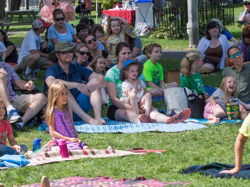 Colburn Park Crowd