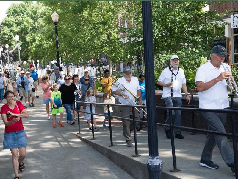 East Bay Jazz Ensemble Leads Procession
